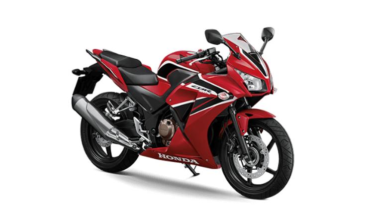Honda CBR300R สีแดง