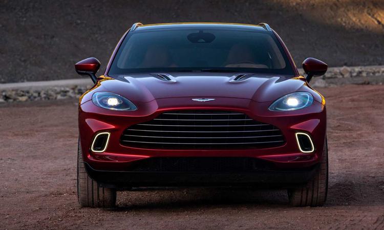 กระจังหน้า Aston Martin DBX
