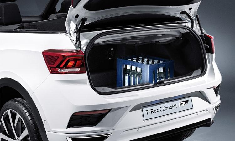 ที่เก็บของด้านหลัง Volkswagen T-Roc Cabriolet