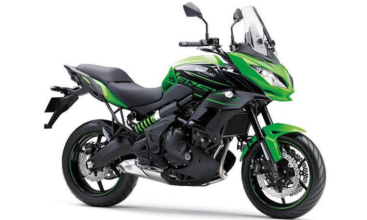 Kawasaki Versys 650 สี GREEN