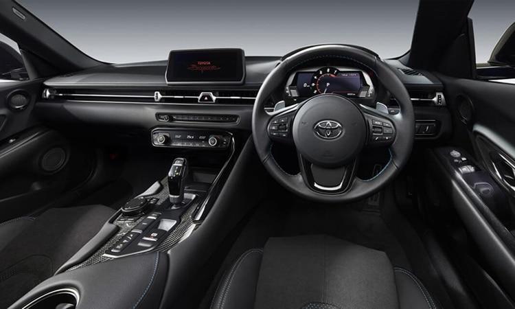 ภายใน Toyota GR SUPRA 2020 EDITION