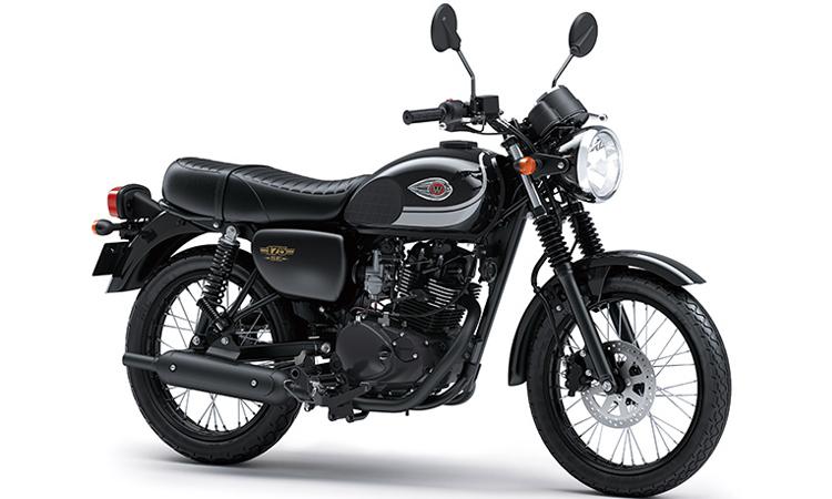 Kawasaki W175 สีดำ