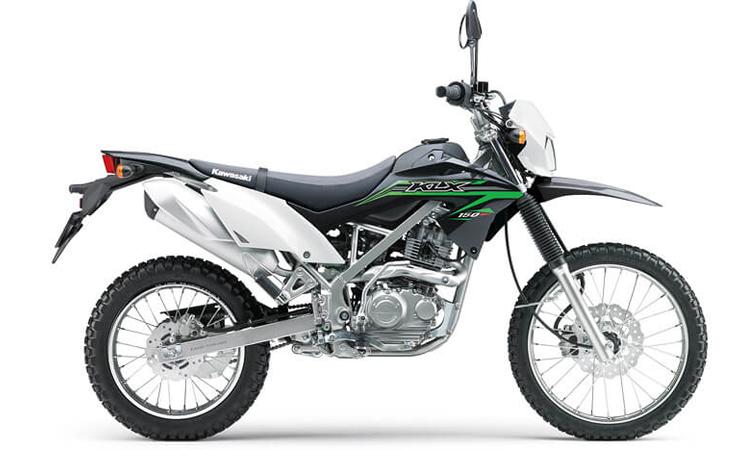 Kawasaki KLX150 สีขาว