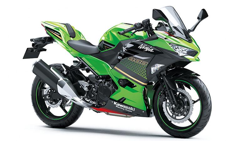 Kawasaki Ninja 400 สี LIME GREEN / EBONY (KRT EDITION) (SE)