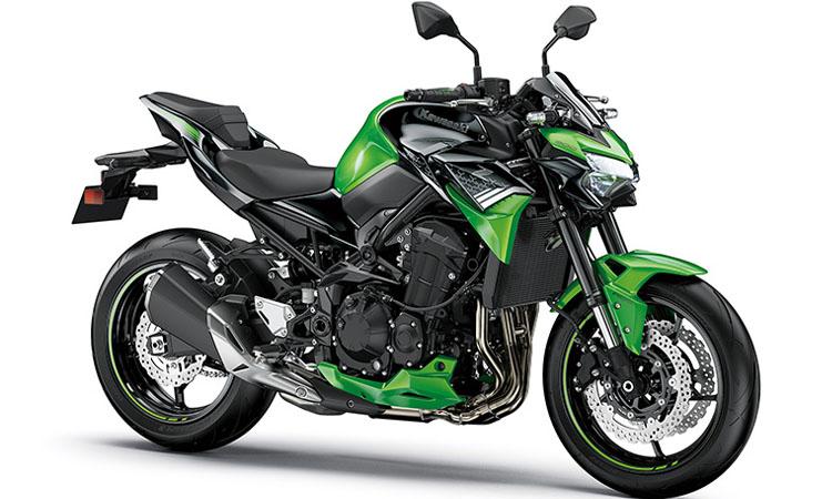 Kawasaki Z900 สีเขียว