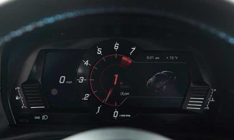 เรือนไมล์ Toyota GR SUPRA 2020 EDITION