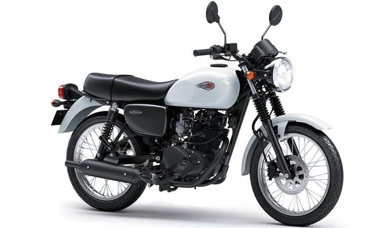 Kawasaki W175 สีขาว