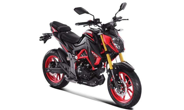 Demon 150 GN 2020 สีแดง