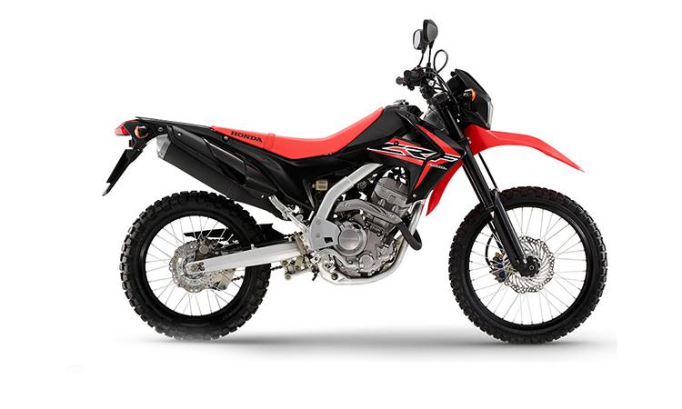 Honda CRF250L สีดำ-แดง