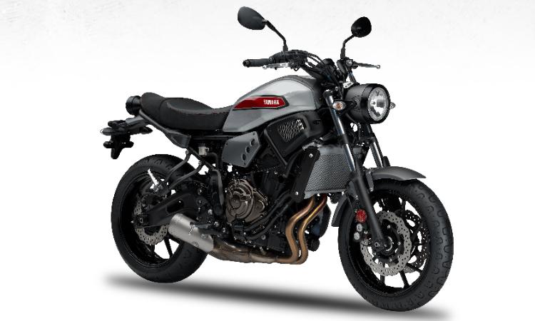 Yamaha XSR700 สี Matt Grey
