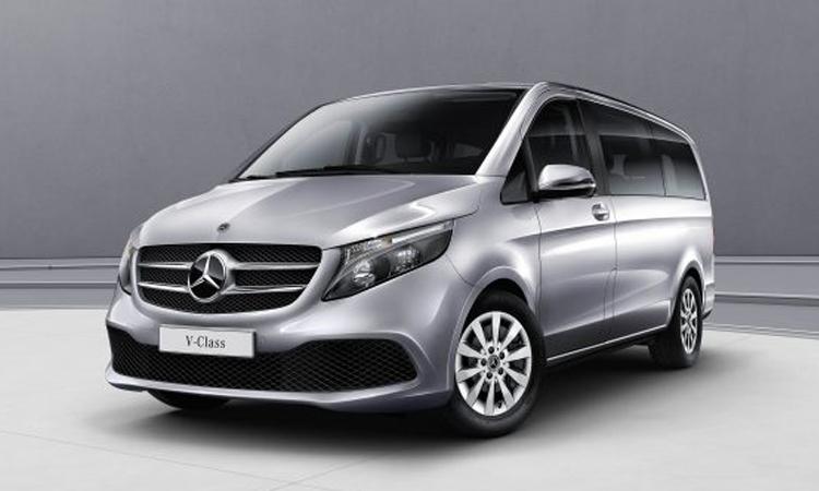 Mercedes-Benz เตรียมเปิดตัว T-Class รถตู้ MPV ขนาดเล็กสุดหรู