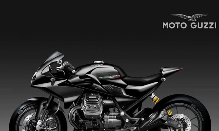 """Moto Guzzi V85 """"Black Eagle"""""""