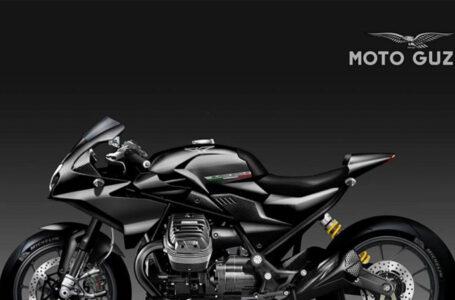 Moto Guzzi V85 Black Eagle ด้วยชุดแต่งจากสำนัก Oberdan Bezzi