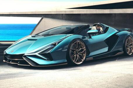 Lamborghini Sián Roadster ซูเปอร์คาที่ใช้แบตเตอรี่ ราคาร้อยล้าน