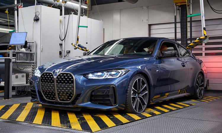 BMW เตรียมเปิดสายการผลิต BMW 4 Series 2021 ในยุโรป