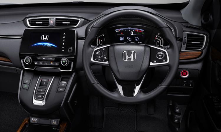 ด้านใน Honda CR-V Minorchange