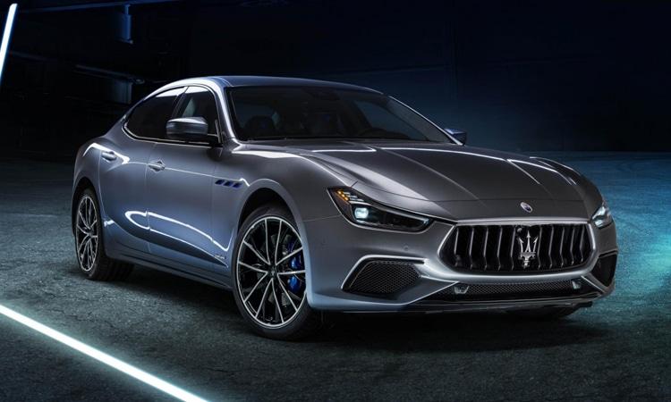 Maserati Ghibli Hybrid 2020 รถไฟฟ้าตัวแรกของค่าย Maserati