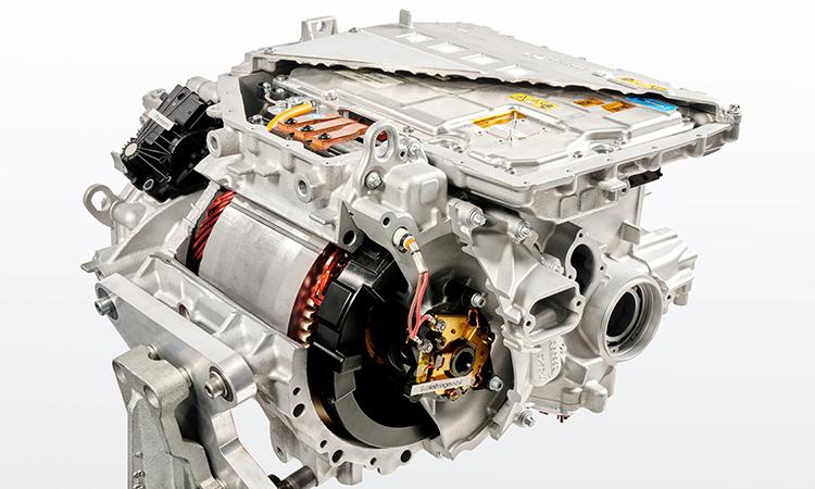 เครื่องยนต์ BMW iX3 EV