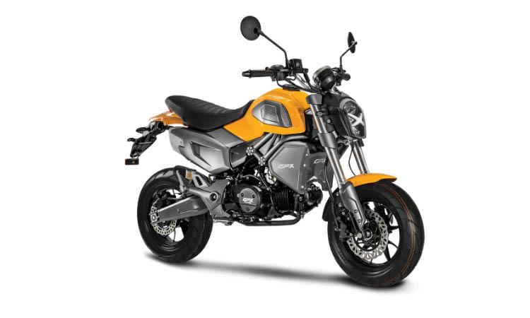 GPX DEMON X 125 สีเหลือง