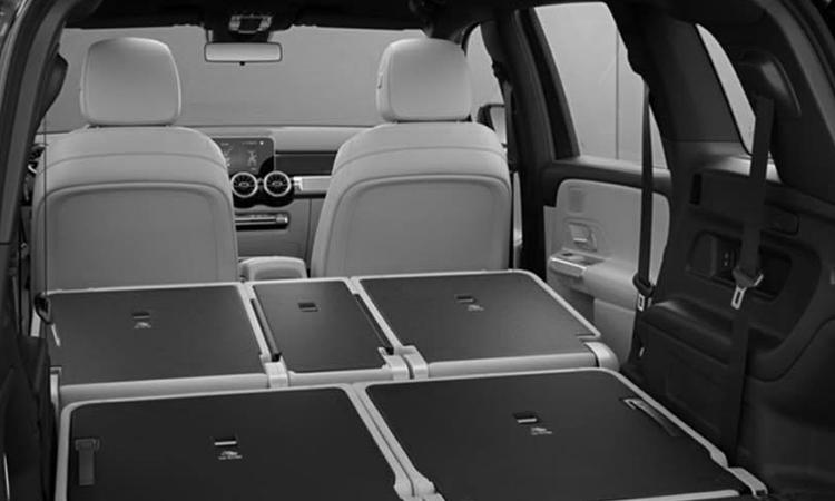 การพับเบาะ Mercedes-Benz GLB 200 Progressive