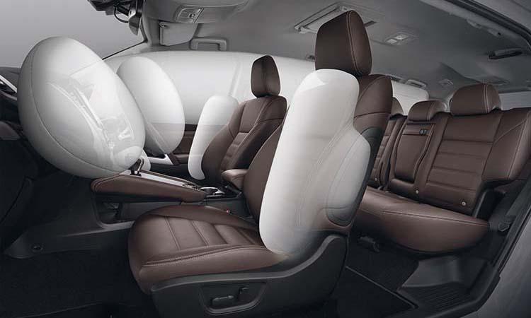 ะบบความปลอดภัย Mitsubishi Pajero Sport Elite Edition