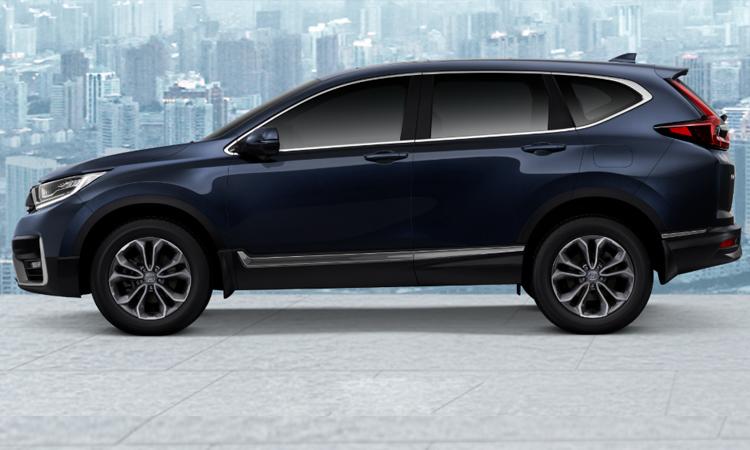 Honda CR-V Minorchange (7 ที่นั่ง) สีน้ำเงิน Cosmic Blue Metallic (NEW)