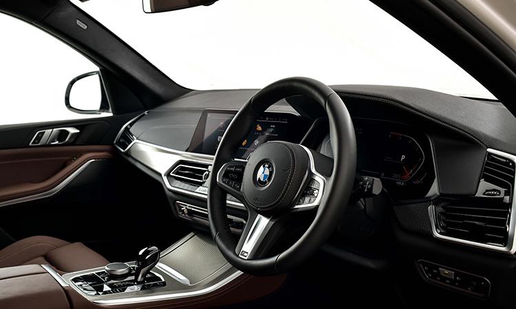ด้านใน BMW X5 xDRIVE 30d M Sport