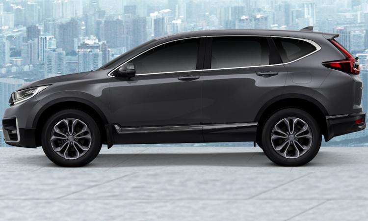 Honda CR-V Minorchange (7 ที่นั่ง) สีเทา Modern Steel Metallic