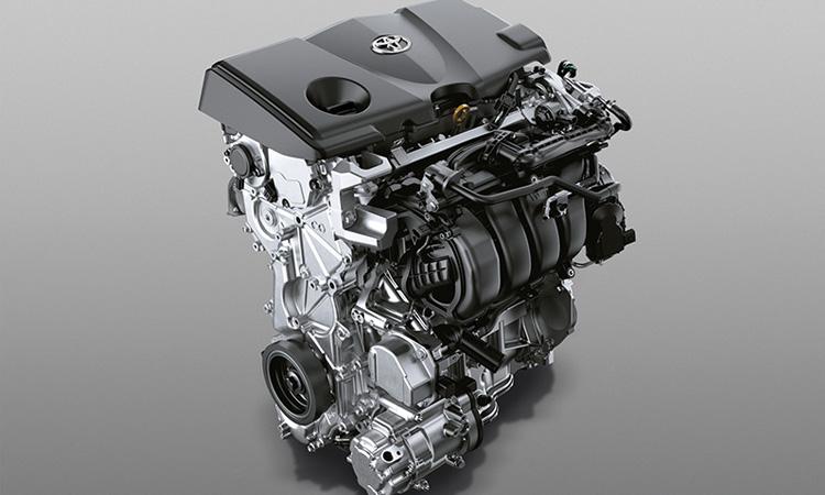 Toyota Camry Minorchange เครื่องยนต์ 2.5 ลิตร Dynamic Force Hybrid THS II (Toyota Hybrid System II) (NEW)