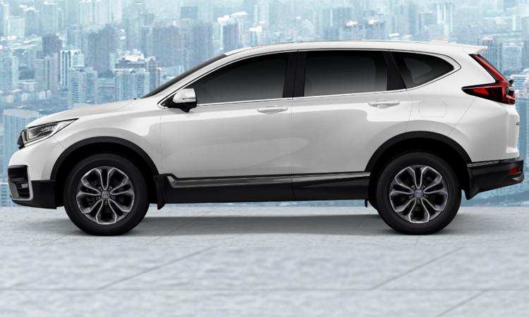 Honda CR-V Minorchange (7 ที่นั่ง) สีขาวมุก Orchid White Pearl (เพิ่มเงิน 12,000 บาท)