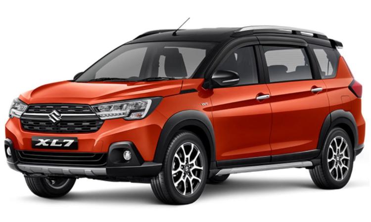 Suzuki XL7 สีส้ม