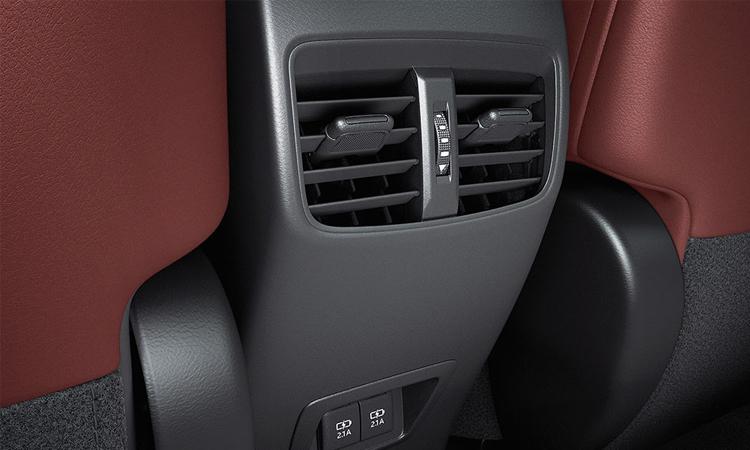 ช่องแอร์ด้านหลัง Toyota Corolla CROSS