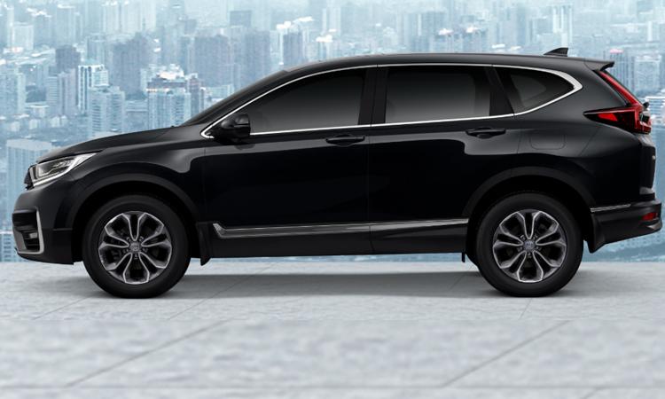Honda CR-V Minorchange (7 ที่นั่ง) สีดำมุก Crystal Black Pearl (เพิ่มเงิน 8,000 บาท)