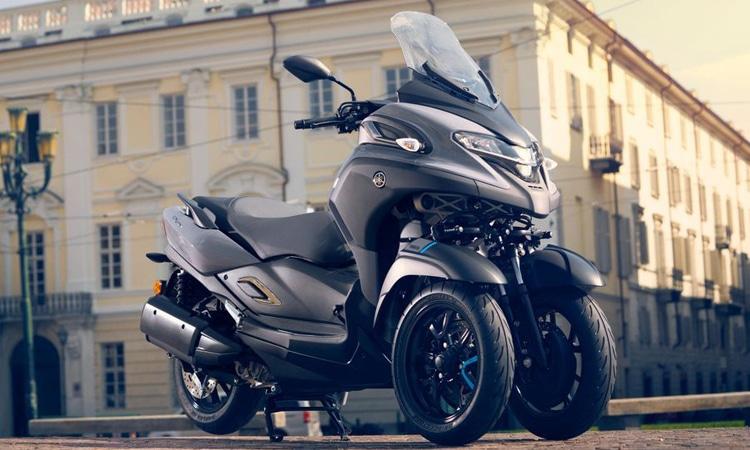 Yamaha Tricity 300 บิ๊กสกู๊ตเตอร์ 3 ล้อ ดีไซน์เดียวกับ Yamaha XMAX 300