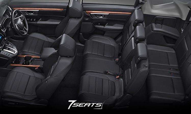 การจัดเบาะนั่ง Honda CR-V (7 ที่นั่ง)