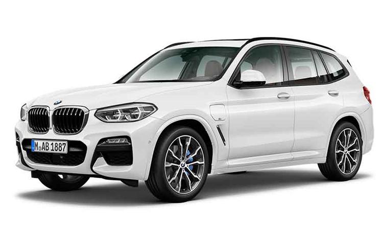 BMW X3 xDrive30e M Sport สีขาว Alpine White