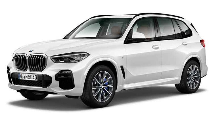 BMW X5 xDrive30d M Sport สีขาว Mineral White