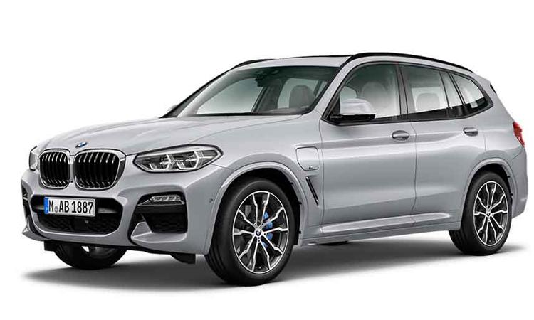 BMW X3 xDrive30e M Sport สีเทา Sophisto Grey Brilliant Effect