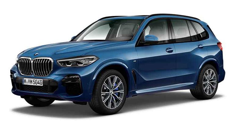 BMW X5 xDrive30d M Sport สีน้ำเงิน Phytonic Blue