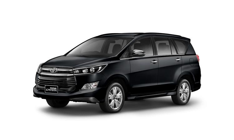 Toyota Innova Crysta 2020 สีดำ