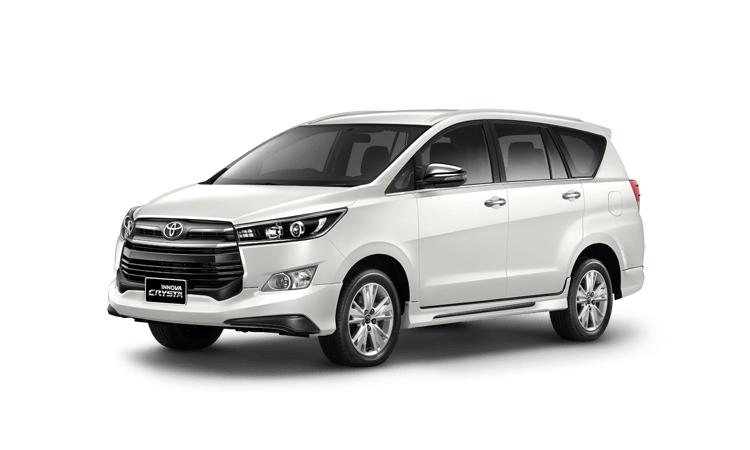 Toyota Innova Crysta 2020 สีขาว