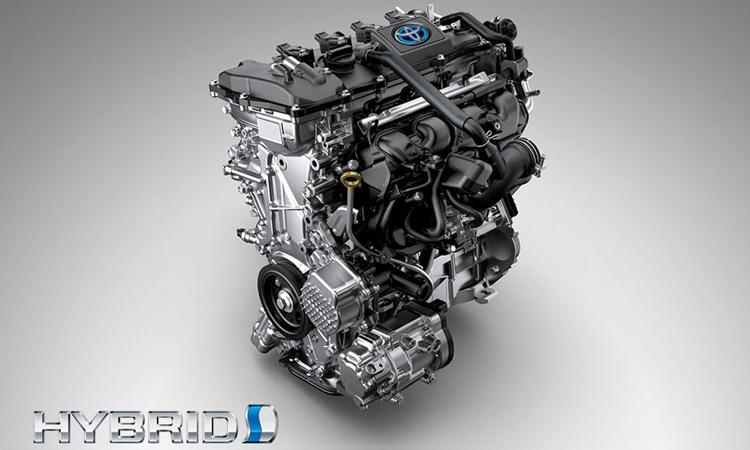 เครื่องยนต์ไฮบริด Toyota Corolla CROSS
