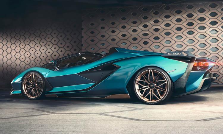 การออกแบบ Lamborghini Sián Roadster