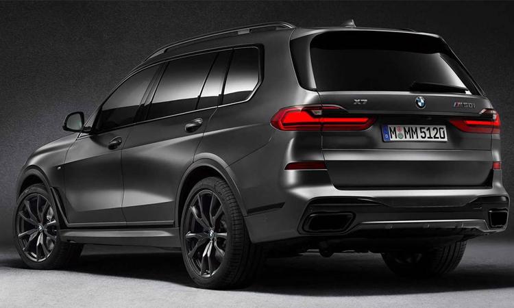 BMW X7 Dark Shadow Edition 2020