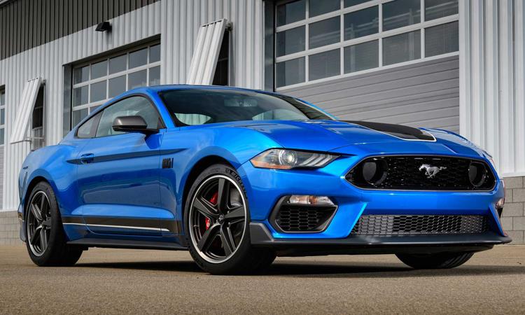 ดีไซน์ Ford Mustang Mach 1 2021