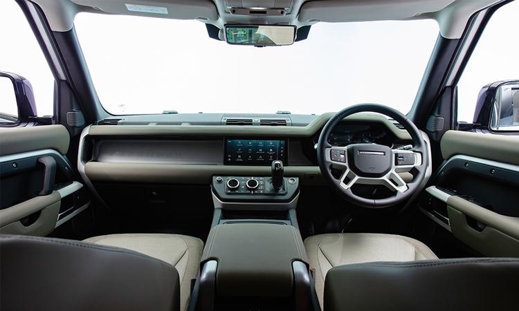 ภายใน All-New Land Rover Defender