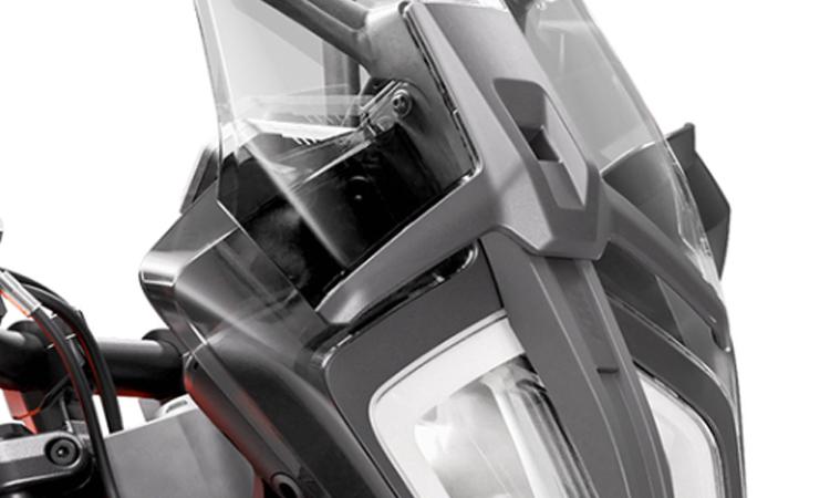 ด้านหน้า KTM 390 Adventure