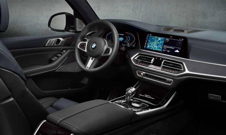 ภายใน BMW X7 Dark Shadow Edition 2020