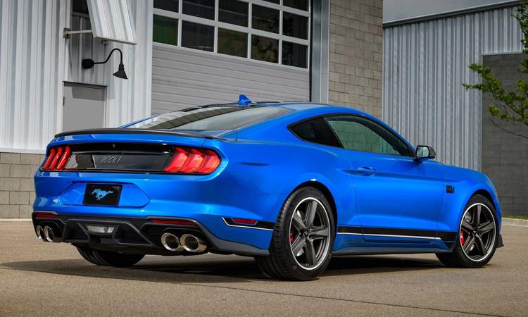 การออกแบบ Ford Mustang Mach 1 2021