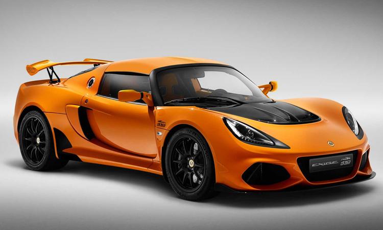 Lotus Exige Sport 410 20th Anniversary Edition สีส้ม Chrome Orange